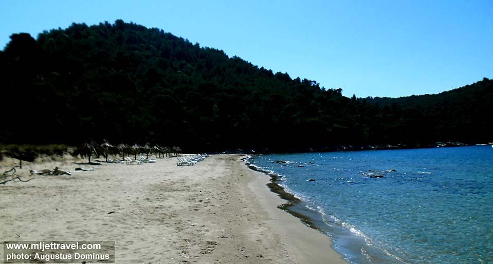 Beaches on Mljet Island