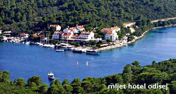 Hotel Odisej on Mljet