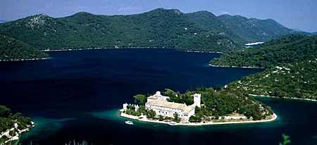 Mljet - Large lake