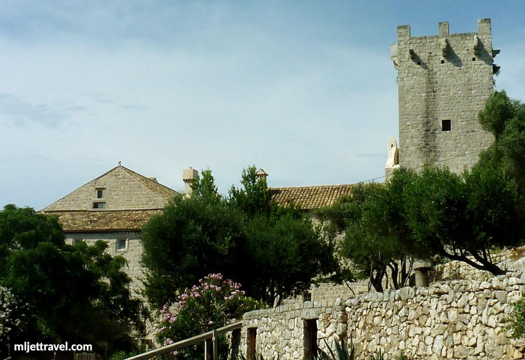 Tower and walls of the Monastery
