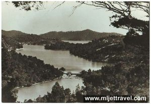 Birds Eye Views over Lakes - Mljet