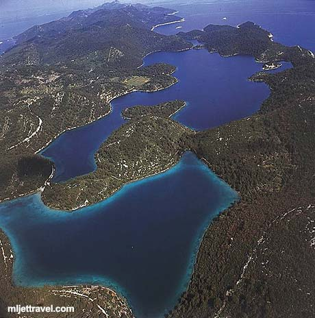 Lakes in National Park Mljet