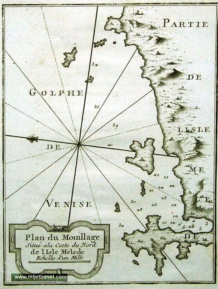 mljet-vingate-map1700s