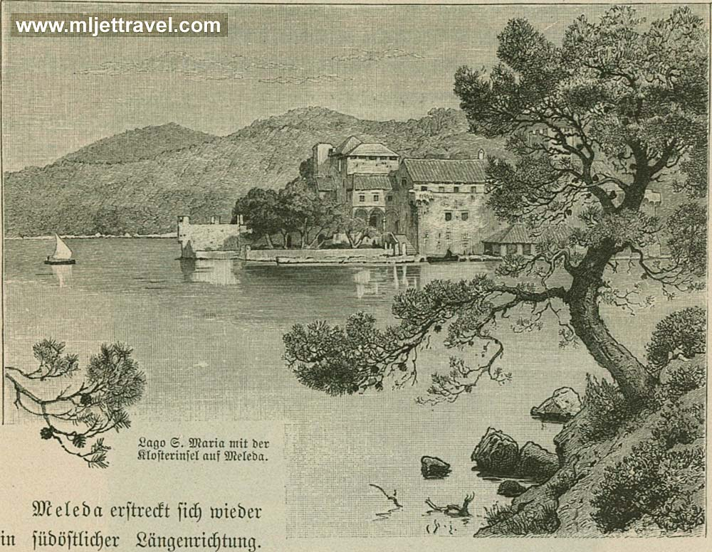 Mljet in the 19th century