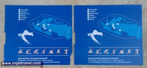 Reverse Side of the Tickets - Mljet National Park, 2016
