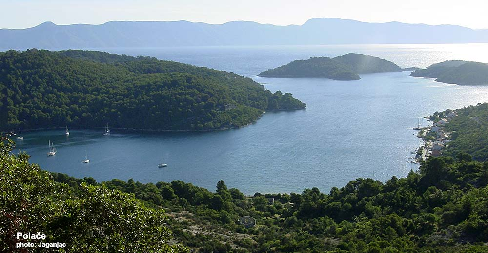 Polače , Island of Mljet - views