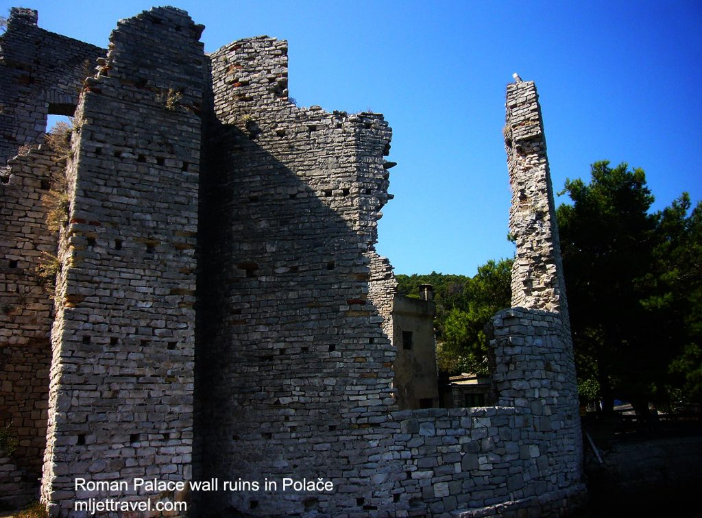 Roman Palace walls / tower - ruins