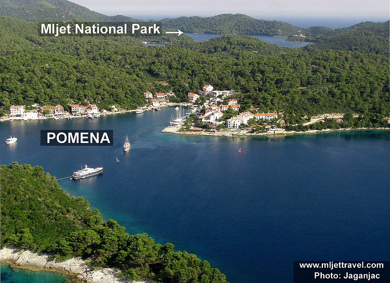 Pomena and Mljet National Park