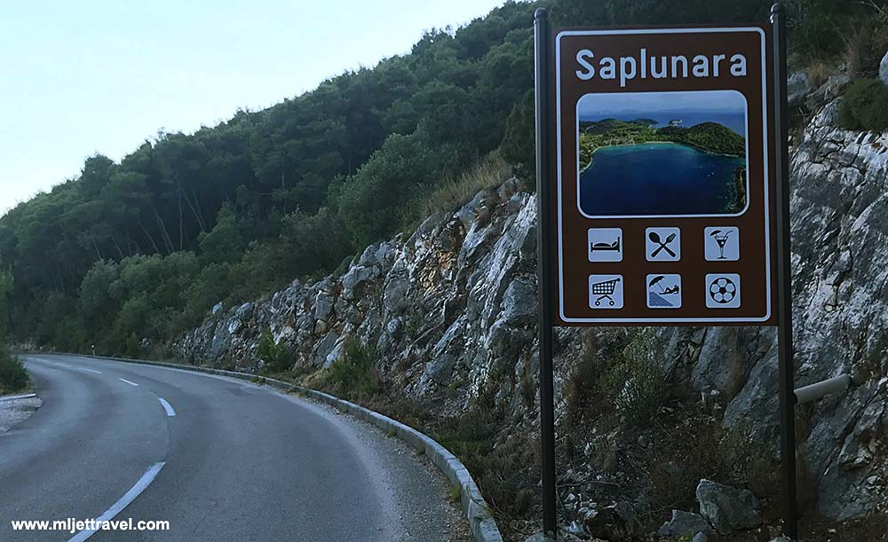 road to Saplunara