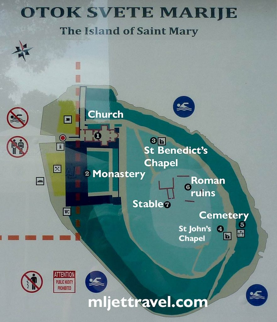 Map of St. Mary Island