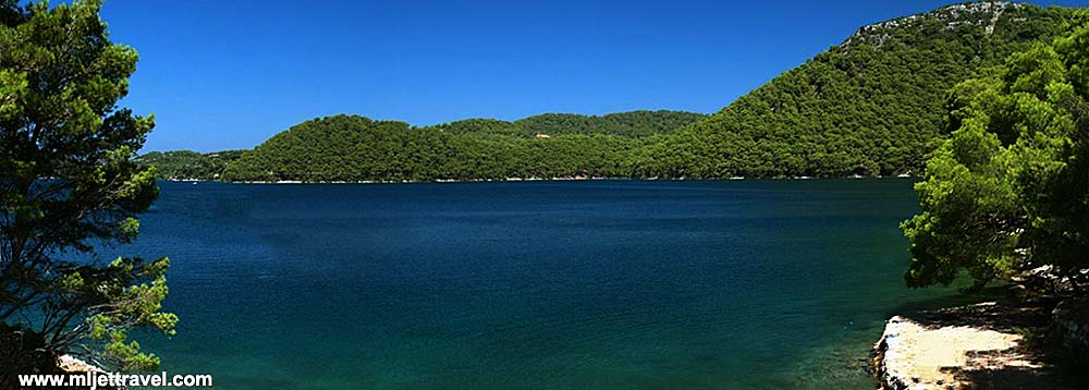 Views over lake @ Mljet island